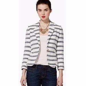 Lucky Brand Striped Blazer Jacket - XS